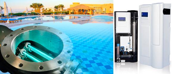 Sistemas combinados de tratamiento de agua en piscinas
