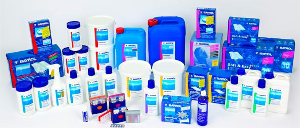 Productos químicos para piscina
