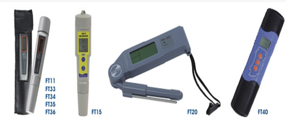 Medidores/analizadores electrónicos Pool-ID