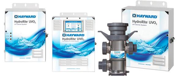 Desinfección del agua de la piscina con Hydrorite UVO3
