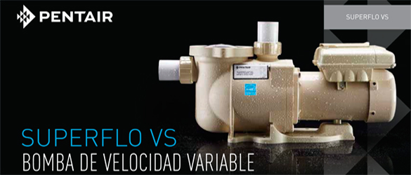 Bomba de velocidad variable Superflo VS de Pentair