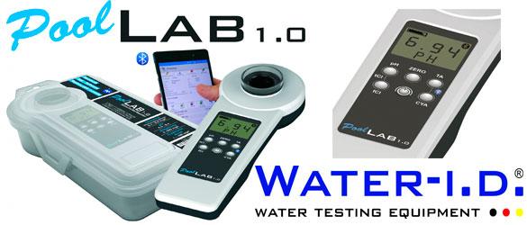 Fotómetro doméstico PoolLab 1.0 de Water-i.d